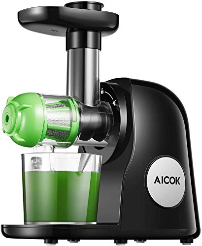 Juicer Machines, Aicok Slow Masticating Juicer Extractor...
