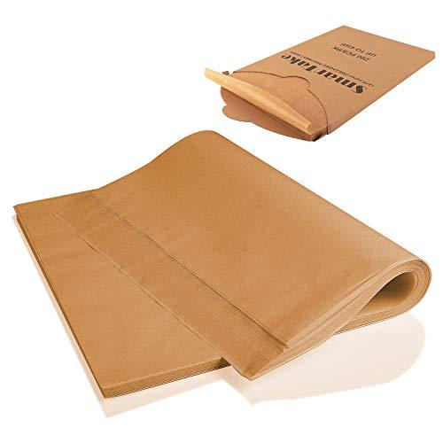 SMARTAKE 200 Pcs Parchment Paper Baking Sheets, 12x16 Inches...