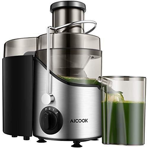 Juicer, Juice Extractor, Aicook Juicer Machine with 3'' Wide...