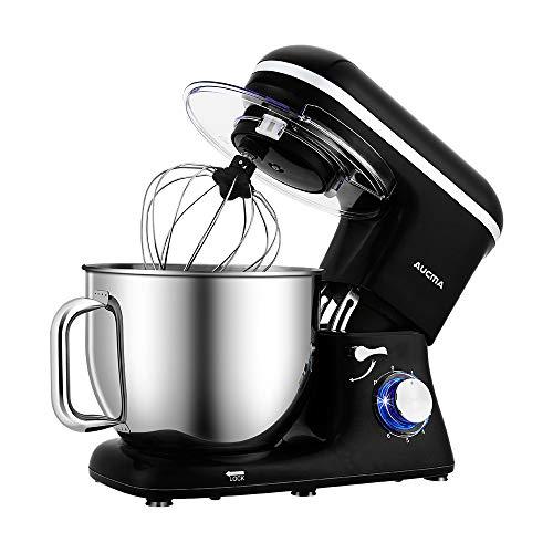 Aucma Stand Mixer,7.4QT 6-Speed Tilt-Head Food Mixer,...