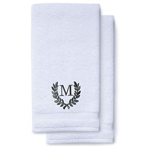 Decorative and Monogrammed Hand Towels for Bathroom Kitchen...