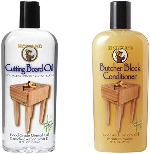 Howard Butcher Block Conditioner and Cutting Board Oil 12...
