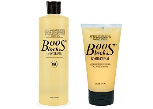 John Boos Block MYSCRM Essential Mystery Oil and Board Cream...