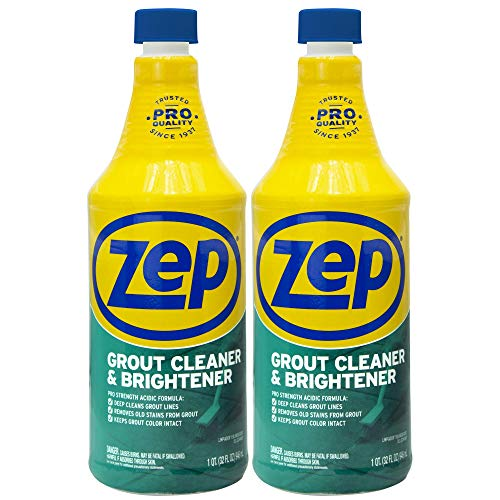 Zep Grout Cleaner and Brightener 32 ounce ZU104632 (Pack of...