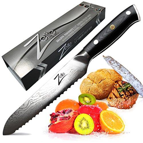 Zelite Infinity Serrated Utility Knife 5.5 Inch -...