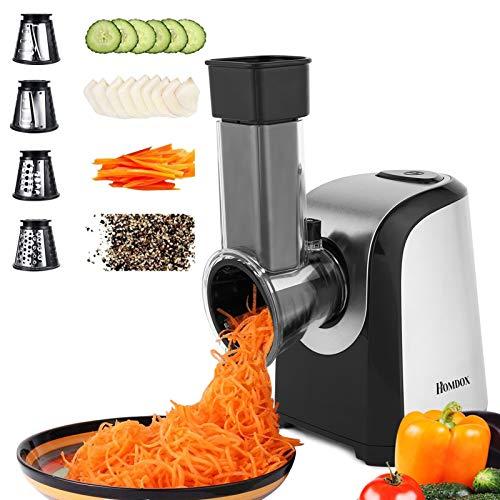 Homdox Electric Slicers, Professional Salad Maker, 150W...