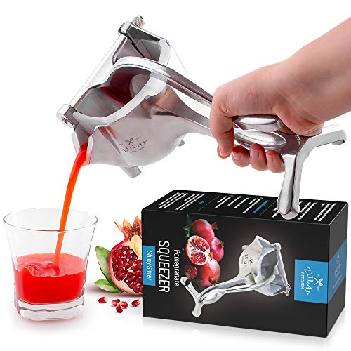 Zulay Fruit Manual Juicer - Sturdy Juice Press Squeezer With...