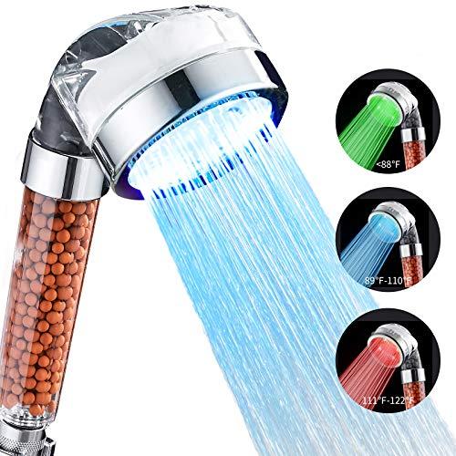 Cobbe Handheld Shower Head, High Pressure Filter Filtration...