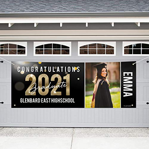 Just Candy Personalized 8ft Graduation Giant Banners with...