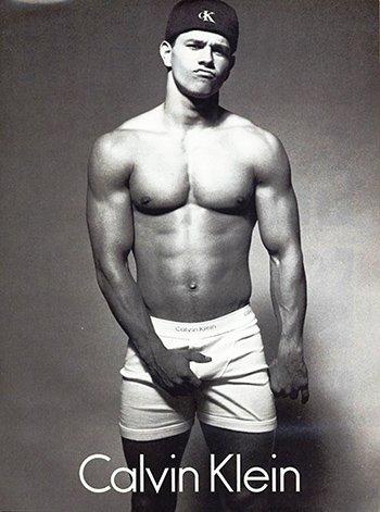 Photo Calvin Kline Movie Star Mark Wahlberg Underwear Photo