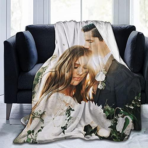 Custom Blanket with Photos Text Customized Blanket...