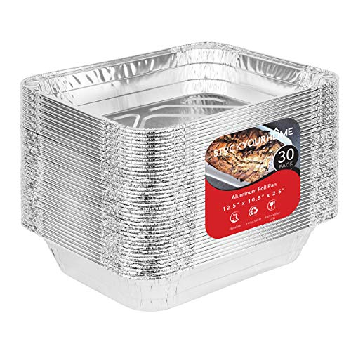 Aluminum Pans 9x13 Disposable Foil Pans (30 Pack) - Half...