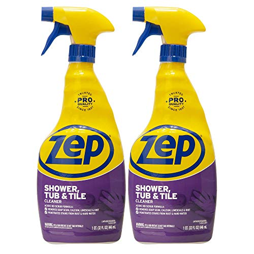 Zep Shower Tub and Tile Cleaner 32 Ounce ZUSTT32PF (Pack of...
