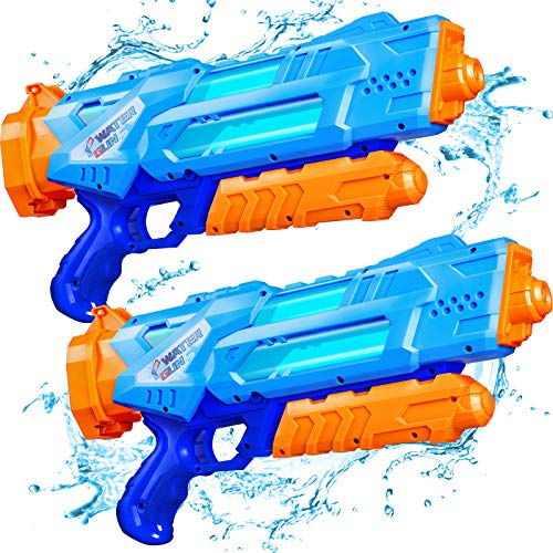 Super Water Guns for Kids & Adults, 2 Pack Super Water...