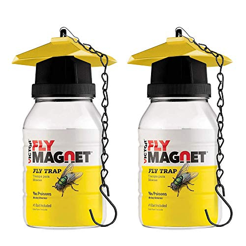 Victor M380 Set of 2 Reusable outdoor Fly Traps 32 oz - Fly...