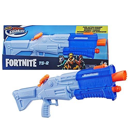 NERF Fortnite TS-R Super Soaker Water Blaster Toy , Brown