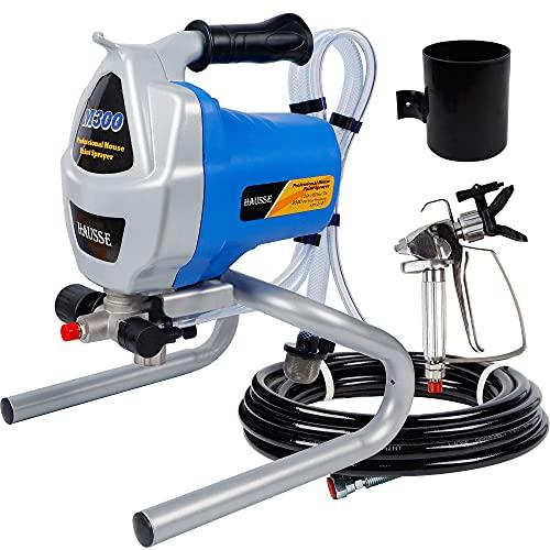 Hausse Electric Airless Paint Sprayer Spray Gun, 3000PSI...
