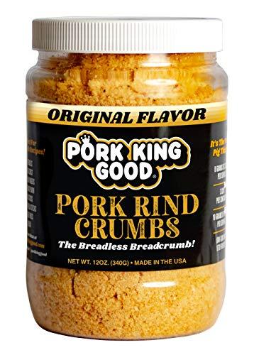 Pork King Good Low Carb Keto Diet Pork Rind Breadcrumbs!...