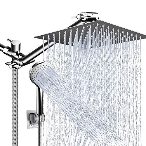 Shower Head Combo,10 Inch High Pressure Rain Shower Head...