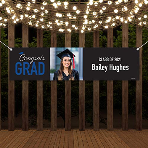 Just Candy 5-Foot Personalized Graduation Banners Class of...