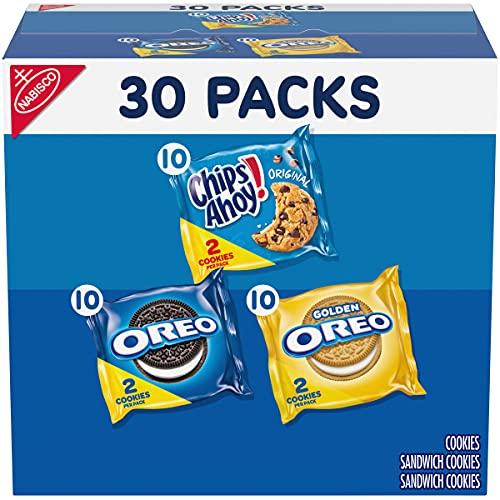 Nabisco Sweet Treats Cookie Variety Pack OREO, OREO Golden &...