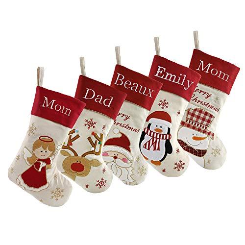 DearSun Set of 5, 18' Personalized Customization Christmas...