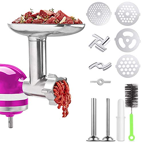 Meat Grinder Attachments for KitchenAid Stand Mixer, Home...