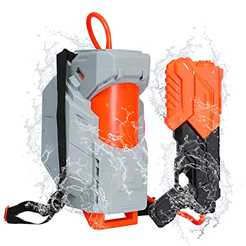 Tinleon Water Gun with Backpack Tank,Squirt Guns for Kid...
