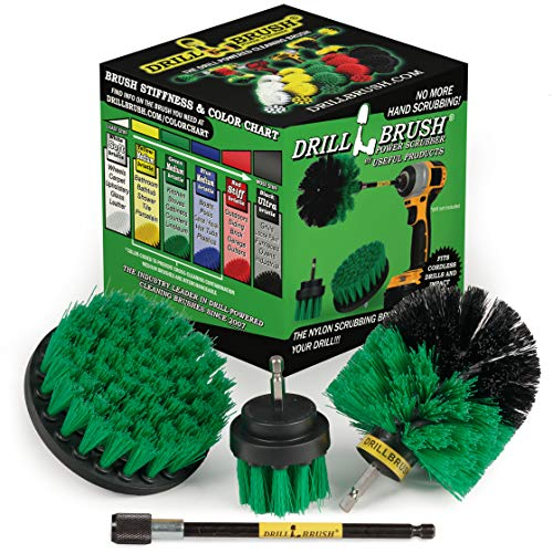Drill Brush - Household Cleaners - Kitchen - Cleaning...