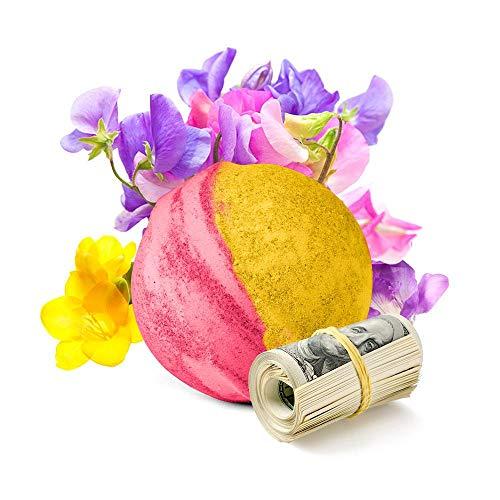 Cash Money Bath Bombs | Jumbo Size 7.5oz | $2-$2500 Inside |...
