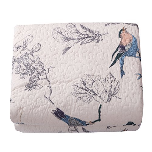 Best Comforter Sets, Flying Birds Printing 3 Piece Cotton...