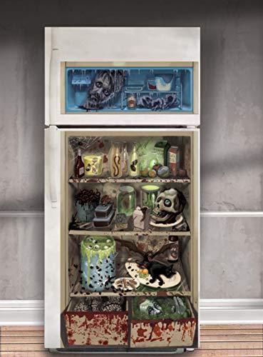 amscan Haunted Asylum Halloween Chop Shop Refrigerator Door...