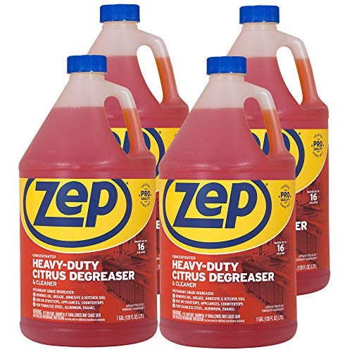 Zep Citrus Heavy-Duty Degreaser and Cleaner ZUCIT128 128...