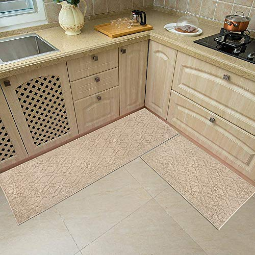 48x20 Inch/30X20 Inch Kitchen Rug Mats Made of 100%...
