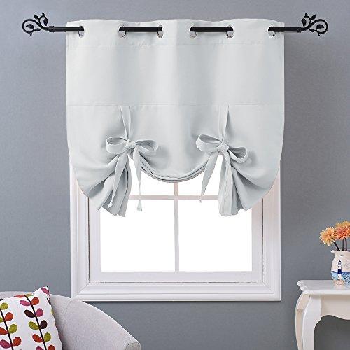 NICETOWN Balloon Bathroom Window Curtains - Blackout Window...