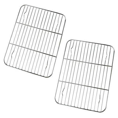 HSIULMY Cooling Rack Stainless Steel Baking Rack Rectangular...