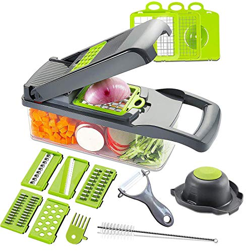 Mandoline Slicer Adjustable Cheese Slicer,Vegetable Chopper...