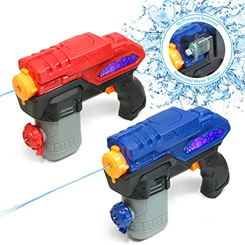 ArmoGear Electric Water Gun | 2 Pack Battery Operated Super...
