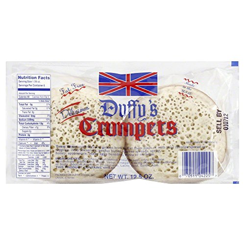 Duffys Crumpet 8 Count (Pack of 2)