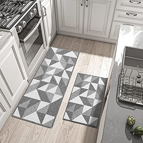 DEXI Kitchen Rugs and Mats Non-Slip Absorbent Mats for...