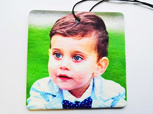 Your Picture On A Square Car Air Freshener