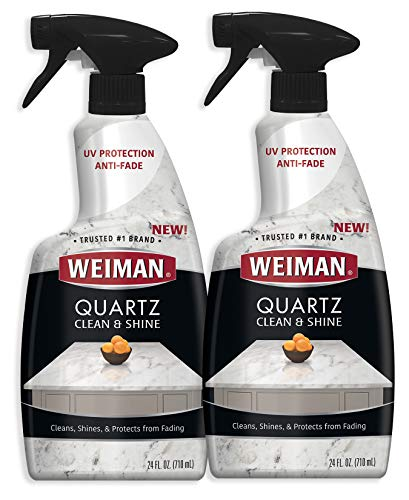 Weiman Quartz Countertop Cleaner and Polish - 24 Ounce (2...