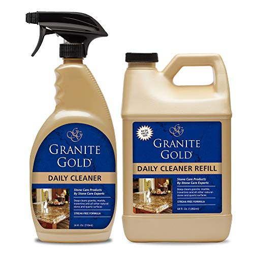 Granite Gold Daily Cleaner Spray and Refill Value Pack...