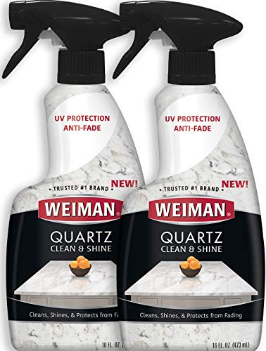 Weiman Quartz Countertop Cleaner and Polish (2 Pack) Clean...