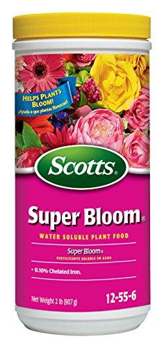 Scotts Super Bloom Water Soluble Plant Food, 2 lb - NPK...