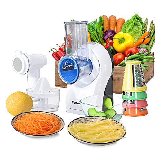 COSTWAY 3-In-1 food Processor, Efficient and Multifunctional...
