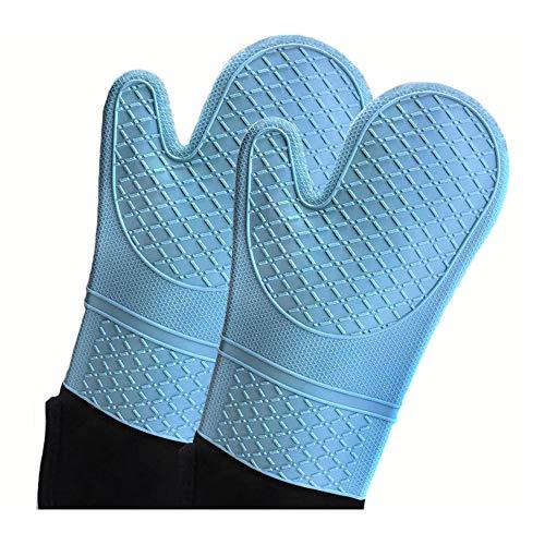 KLLKALILUKLL Professional Silicone Oven Mitt Glove,Oven...
