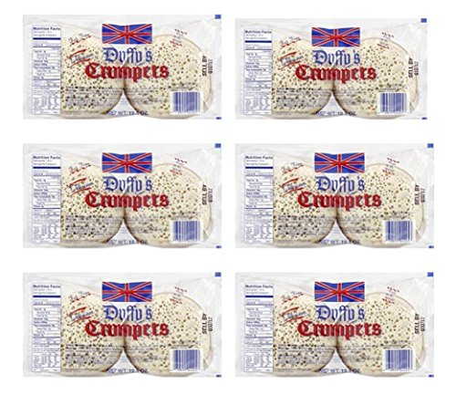 Duffy Crumpets 12.5 oz (pack of 6)