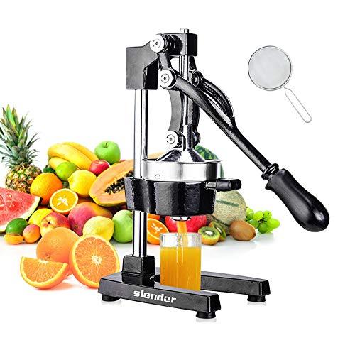 Slendor Commercial Citrus Juicer Manual Fruit Juicer and...