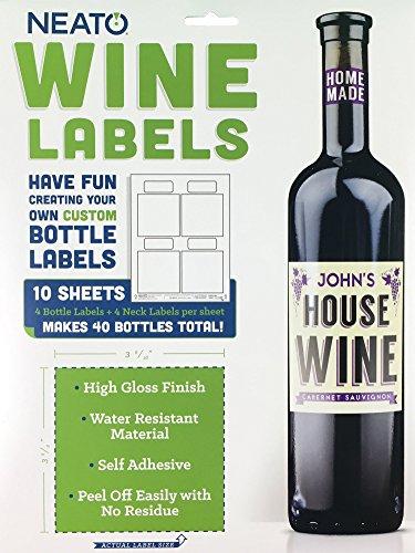 Wine Bottle Labels - Make Your Own Custom Printable Wine...